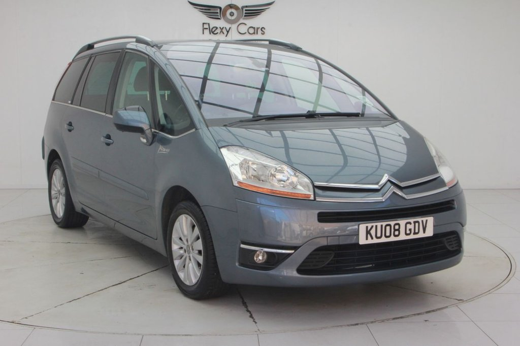 USED 2008 08 CITROEN C4 GRAND PICASSO 1.6 EXCLUSIVE HDI EGS 5d 110 BHP