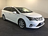 USED 2012 62 TOYOTA AVENSIS 2.0 T4 D-4D 5d 124 BHP Very High Spec, Excellent Service History, 1 Previous Owner,