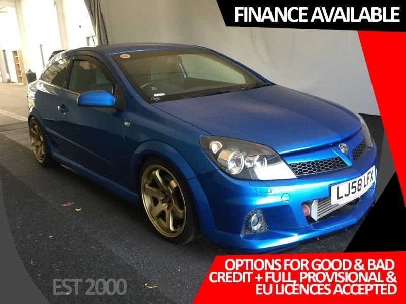 USED 2008 58 VAUXHALL ASTRA 2.0 VXR 3d 240 BHP * CRUISE CONTROL * REAR PRIVACY GLASS * 18 INCH WHEELS *