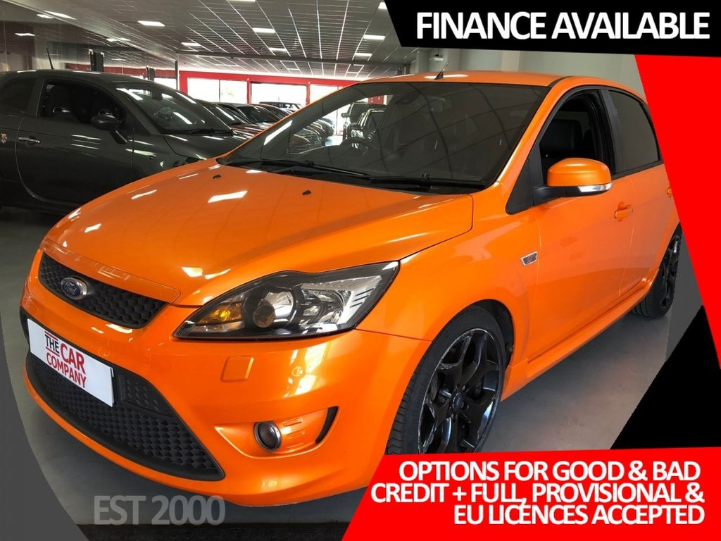 USED 2010 10 FORD FOCUS 2.5 ST-3 5d 223 BHP * HEATED LEATHER * RECARO SEATS * PRIVACY GLASS *