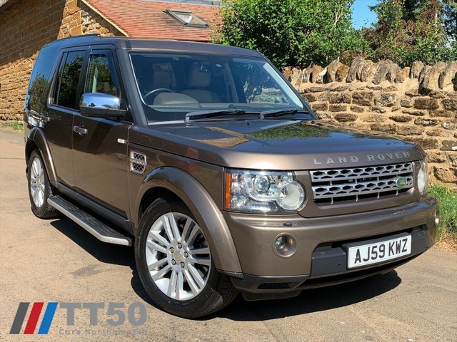 2009 59 LAND ROVER DISCOVERY 3.0L 4 TDV6 HSE 5d AUTO 245 BHP
