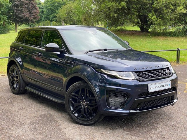 USED 2016 16 LAND ROVER RANGE ROVER EVOQUE 2.0 TD4 SVR STYLING NAV PAN ROOF HEATED LEATHER STEPS SENSORS