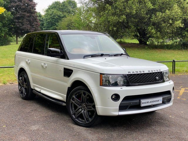 USED 2011 61 LAND ROVER RANGE ROVER SPORT 3.0 SDV6 HSE COMMANDSHIFT AUTOBIOGRAPHY STYLE SAT NAV 360 CAMERA STEPS