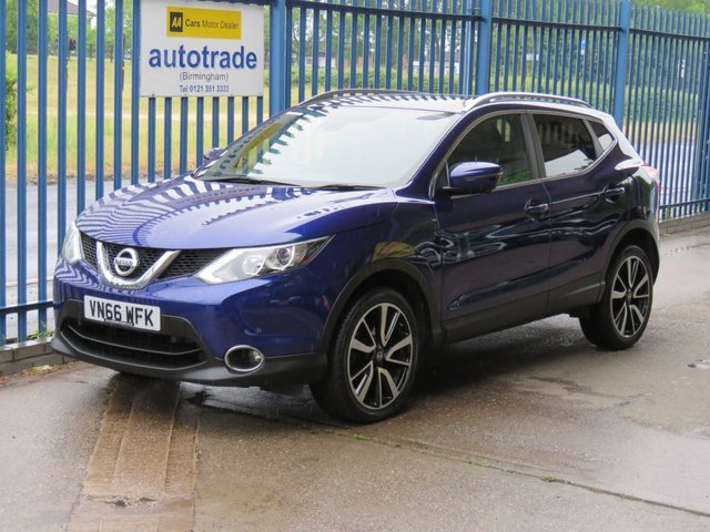 USED 2016 66 NISSAN QASHQAI 1.5 N-VISION DCI Sat nav Pan roof Part leather Privacy ULEZ Compliant Finance arranged Part exchange available Open 7 days ULEX Compliant
