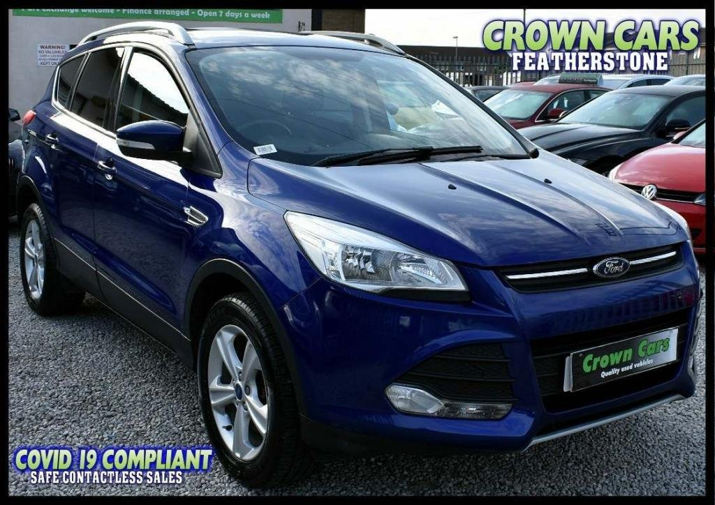 USED 2014 64 FORD KUGA 2.0 TDCi Zetec 5dr AMAZING LOW RATE FINANCE