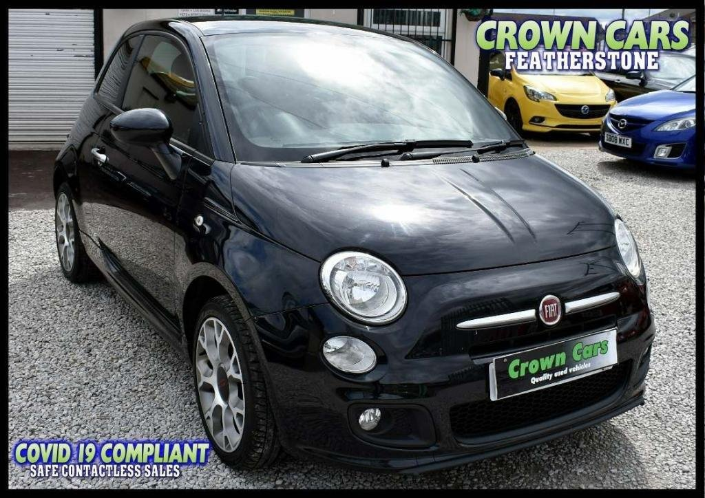 USED 2015 15 FIAT 500 1.2 S (s/s) 3dr AMAZING LOW RATE FINANCE DEALS