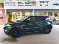 USED 2014 LAND ROVER RANGE ROVER EVOQUE 2.2 SD4 DYNAMIC LUX 5d 190 BHP STUNNING EVOQUE 2.2 DYNAMIC LUX