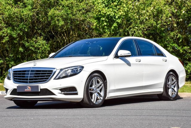 2015 MERCEDES-BENZ S-CLASS 3.0 S350 BLUETEC L AMG LINE EXECUTIVE 4d 258 BHP
