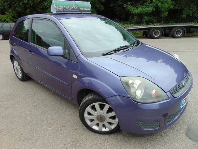 2007 07 FORD FIESTA 1.4 SILVER LIMITED 3d 78 BHP