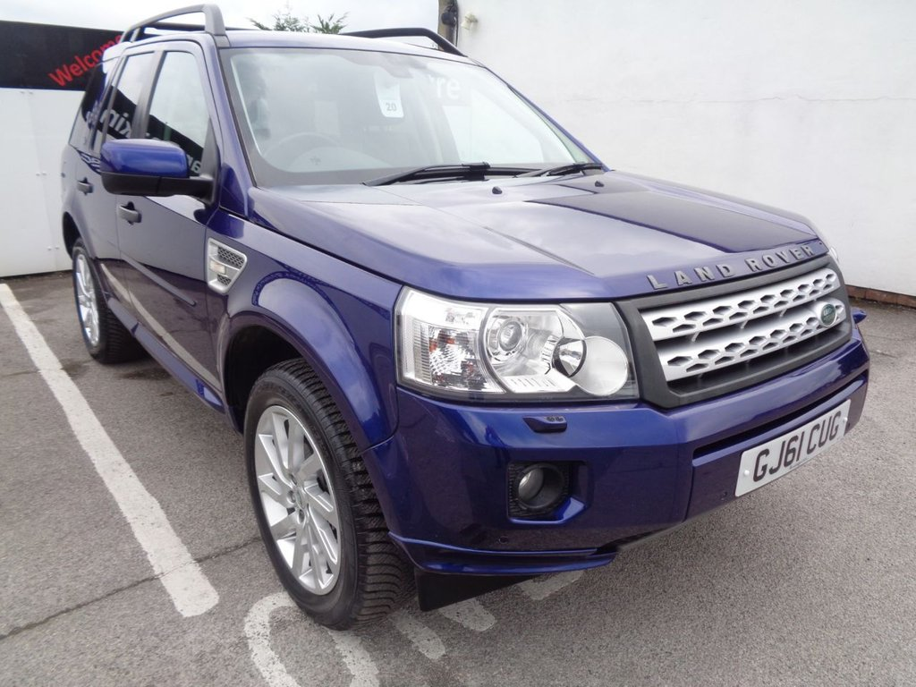USED 2011 61 LAND ROVER FREELANDER 2.2 SD4 HSE 5d 190 BHP 4X4 AWD 4WD Satellite Navigation  full service history 7 stamps  leather heated seats bluetooth  sunroof   parking sensors  privacy glass