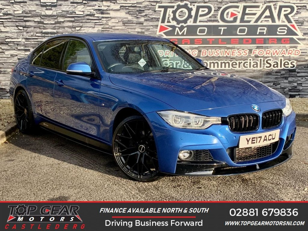 USED 2017 17 BMW 3 SERIES 335D XDRIVE M SPORT AUTO 3.0 313 BHP **OVER 90 VEHICLES IN STOCK** M-SPORT X DRIVE **LOW MILES** CHEAPEST 335D IN N.I. **