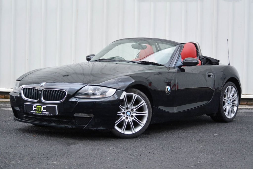 USED 2008 57 BMW Z4 2.0 Z4 SPORT ROADSTER 2d 148 BHP **Full History - Red Leather**