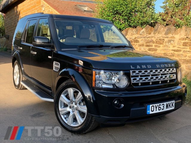 2013 63 LAND ROVER DISCOVERY 3.0L 4 SDV6 HSE 5d AUTO 255 BHP