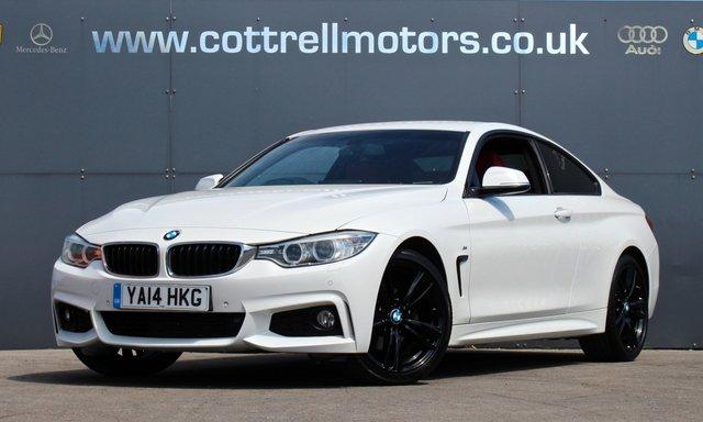 2014 14 BMW 4 SERIES 2.0 420D M SPORT 2d 181 BHP [ PRO SATNAV ]