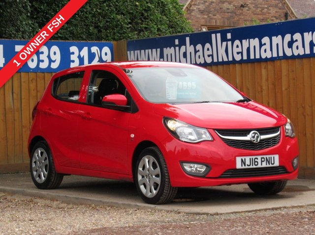 USED 2016 16 VAUXHALL VIVA 1.0 SE 5d 74 BHP LOVELY CAR