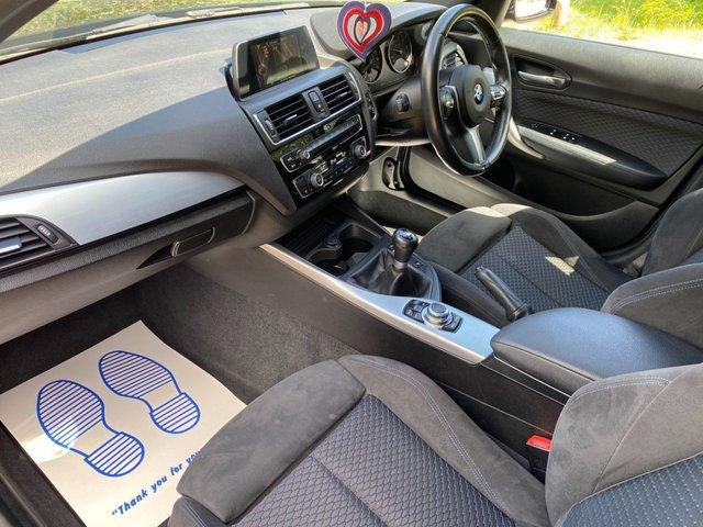 USED 2015 15 BMW 1 SERIES 2.0 118D M SPORT 5d 147 BHP SAT  NAV