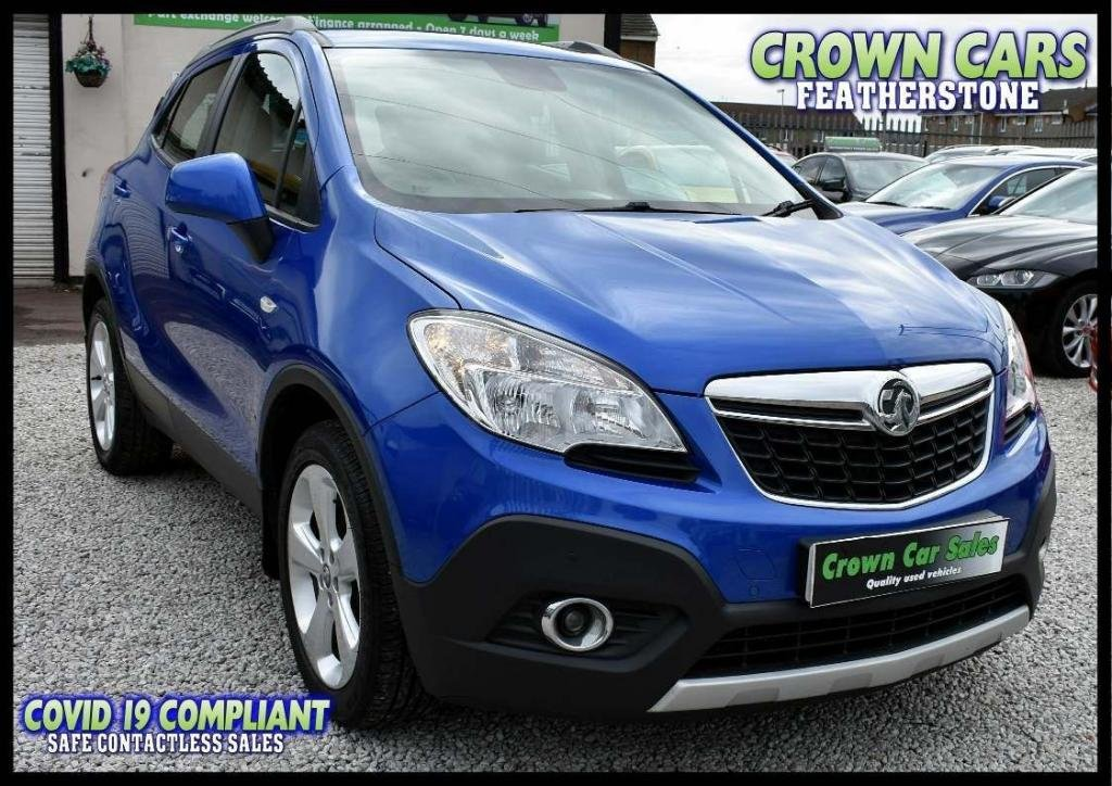 USED 2013 13 VAUXHALL MOKKA 1.4 16v Turbo Exclusiv 4x4 (s/s) 5dr AMAZING LOW RATE FINANCE DEALS