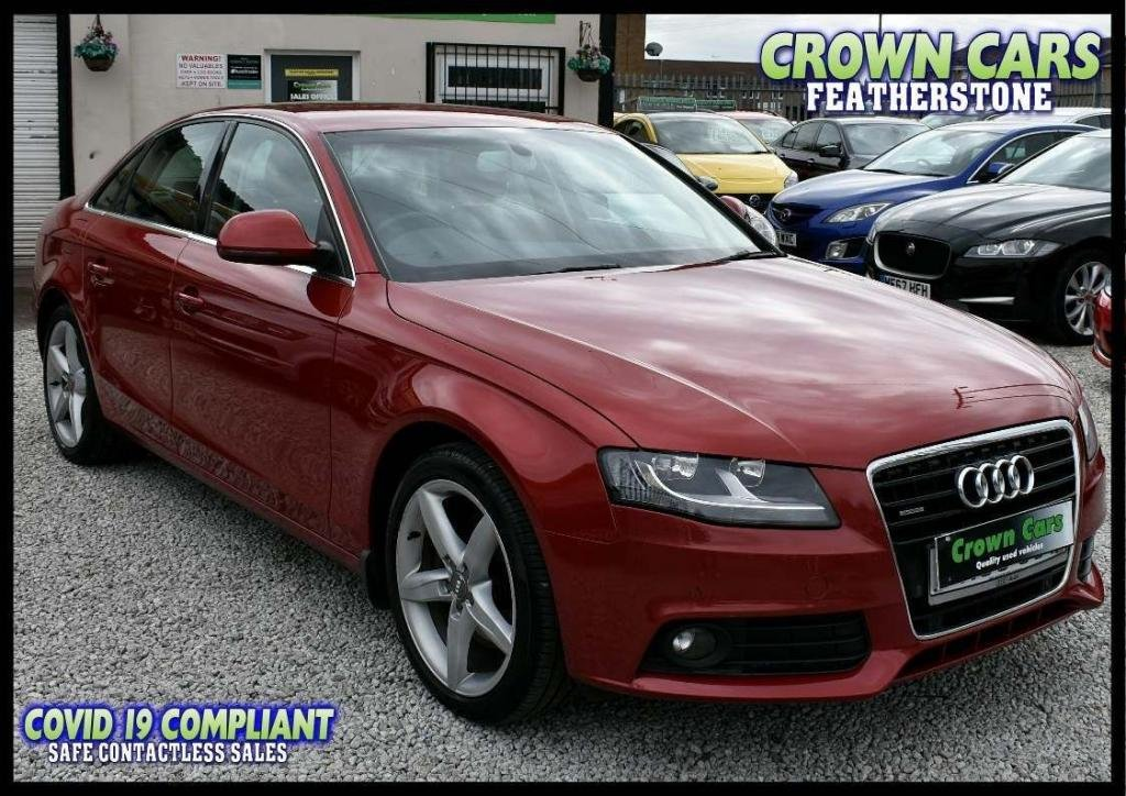 USED 2008 08 AUDI A4 3.0 TDI SE quattro 4dr AMAZING LOW RATE FINANCE