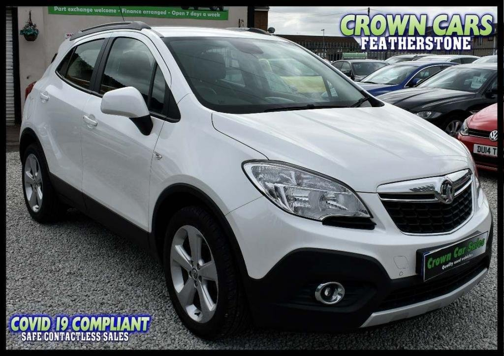 USED 2014 14 VAUXHALL MOKKA 1.7 CDTi ecoFLEX 16v Exclusiv FWD (s/s) 5dr AMAZING LOW RATE FINANCE DEALS
