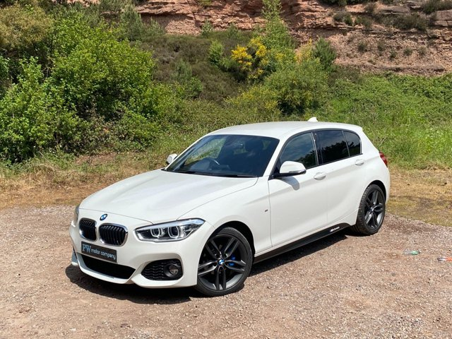 USED 2017 17 BMW 1 SERIES 2.0 118D M SPORT 5d 147 BHP satnav FSH