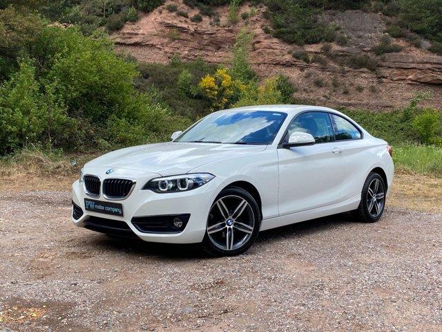 USED 2018 67 BMW 2 SERIES 2.0 218D SPORT 2d 148 BHP SAT NAV AUTO