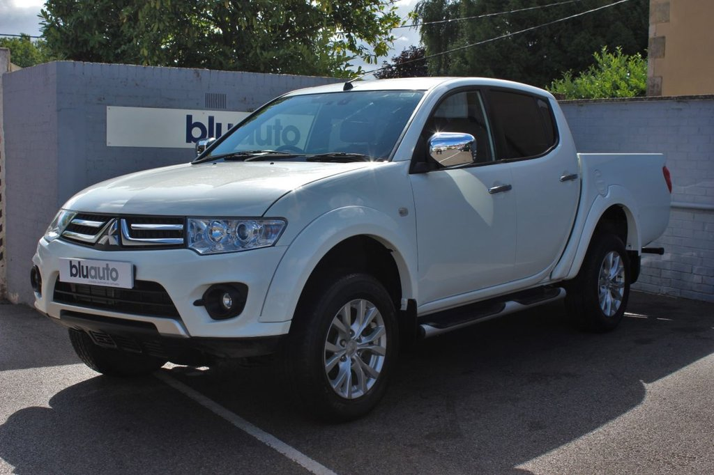 USED 2015 15 MITSUBISHI L200 2.5 DI-D 4X4 WARRIOR LB DCB 175 BHP 1 Owner, Full Service History, Low Mileage, Tow Capacity 3000kg