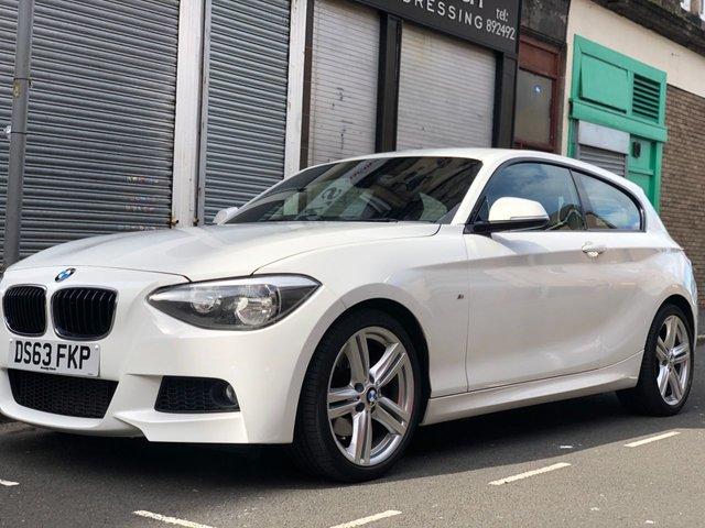 2013 63 BMW 1 SERIES 2.0 125D M SPORT 3d 215 BHP
