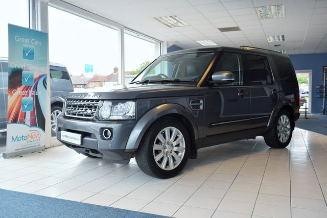 2014 64 LAND ROVER DISCOVERY 4 3.0 SDV6 COMMERCIAL XS 255 BHP