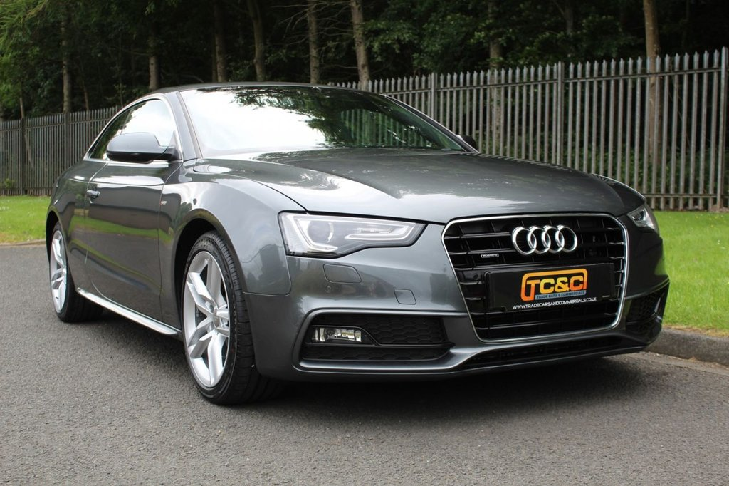 USED 2016 16 AUDI A5 2.0 TDI QUATTRO S LINE 3d 187 BHP A STUNNING LOW OWNER A5 WITH A COMPREHENSIVE SERVICE HISTORY!!!
