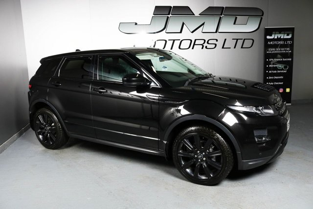 USED 2014 14 LAND ROVER RANGE ROVER EVOQUE 2014 RANGE ROVER EVOQUE 2.2 SD4 DYNAMIC BLACK PACK 190 BHP MANUAL ( FINANCE & WARRANTY)