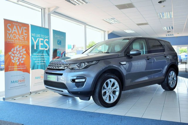 2016 65 LAND ROVER DISCOVERY SPORT 2.0 TD4 HSE 5d 180 BHP