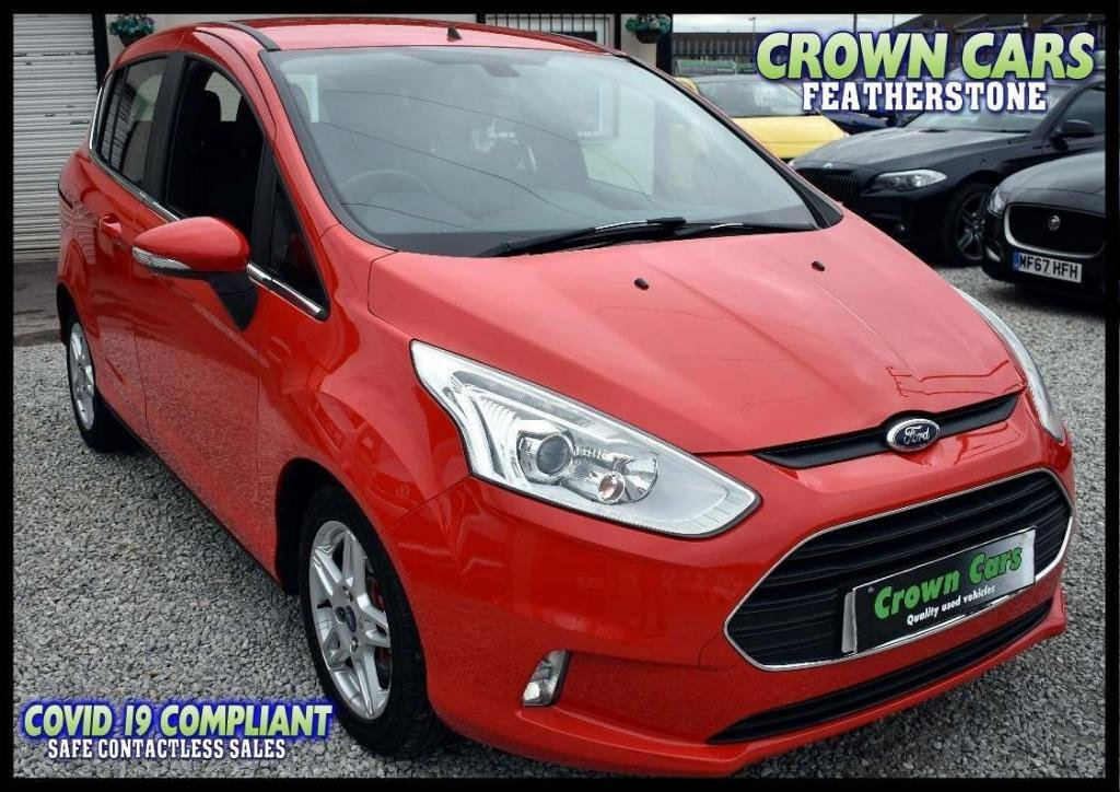 USED 2014 14 FORD B-MAX 1.6 TDCi Zetec 5dr (EU5) AMAZING LOW RATE FINANCE