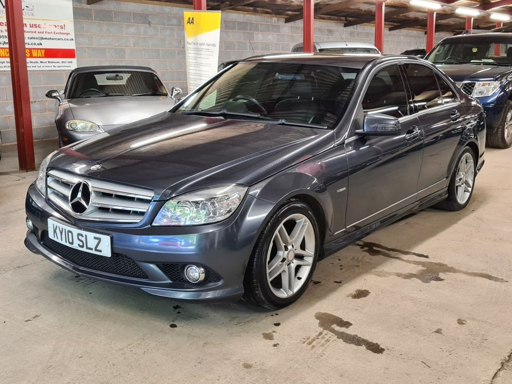 USED 2010 10 MERCEDES-BENZ C-CLASS 1.8L C180 CGI BLUEEFFICIENCY SPORT 4d AUTO 156 BHP +++GOOD SERVICE HISTORY+++