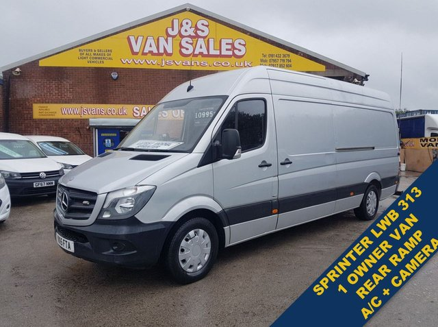 USED 2015 15 MERCEDES-BENZ SPRINTER 1 OWNER N.H.S TRUST AIR CON £11000 + VAT L.W.B  (((((((( LOTS MORE MODEL IN STOCK WWW.JSVANS.CO.UK  )))))))