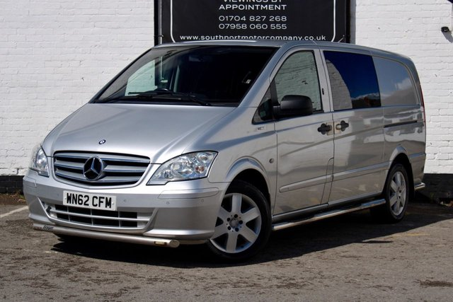 2012 62 MERCEDES-BENZ VITO 2.1 113 CDI BLUEEFFICIENCY DUALINER 136 BHP