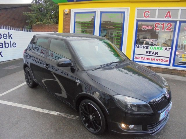 USED 2014 14 SKODA FABIA 1.2 BLACK EDITION 5d 105 BHP ***JUST ARRIVED...TEST DRIVE TODAY***NO DEPOSIT DEALS