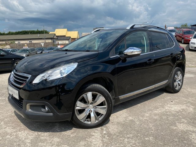 USED 2014 64 PEUGEOT 2008 1.6 E-HDI ALLURE FAP 5d AUTOMATIC BLUETOOTH+ALLOY WHEELS+CLIMATE CONTROL+CRUISE CONTROL+MEDIA+BLUETOOTH+1 FORMER OWNER+£0 ROAD TAX+USB+AUXILIARY+ELECTRIC WHEELS+