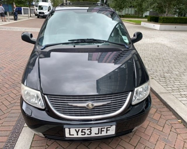 2003 53 CHRYSLER GRAND VOYAGER 3.3 LIMITED 5d 172 BHP