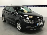 USED 2017 17 VOLKSWAGEN POLO 1.2 MATCH EDITION TSI 5d 90 BHP (1 OWNER - DAB RADIO -BLUETOOTH)