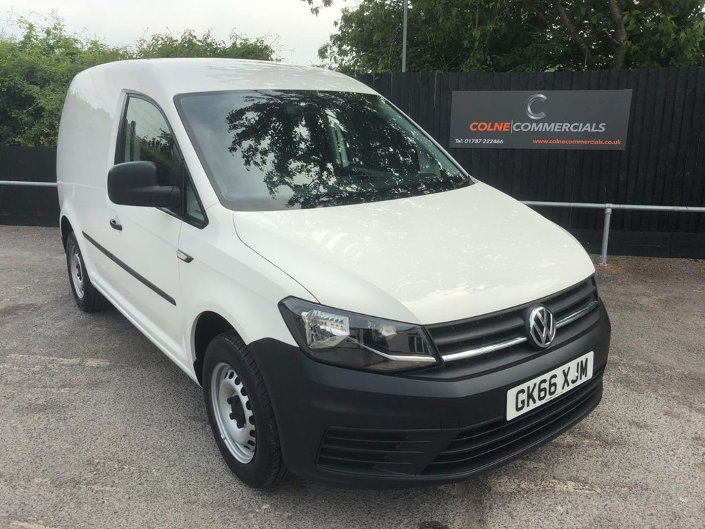 USED 2016 66 VOLKSWAGEN CADDY 2.0TDI C20 STARTLINE BMT (EURO 6)(102 PS)