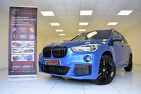 USED 2017 17 BMW X1 XDRIVE20D M SPORT 5 DOOR