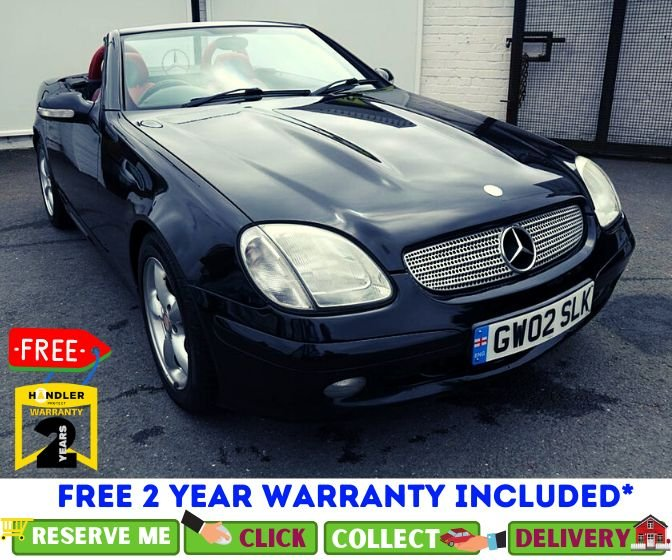 USED 2002 02 MERCEDES-BENZ SLK 3.2 SLK320 2d AUTO 218 BHP * STUNNING COLOUR COMBINATION *