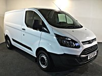 USED 2017 17 FORD TRANSIT CUSTOM 2.0 290 LR P/V 104 BHP EURO 6, LOW GENUINE MILES,