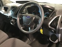 USED 2017 17 FORD TRANSIT CUSTOM 2.0 290 LR P/V 104 BHP EURO 6, LOW GENUINE MILES,