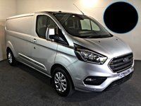 USED 2019 19 FORD TRANSIT CUSTOM 2.0 300 LIMITED P/V L2 H1 129 BHP HIGH SPEC, FULLY LOADED,