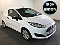 USED 2016 65 FORD FIESTA 1.5 BASE TDCI 74 BHP AIR CONDITIONING, BLUETOOTH