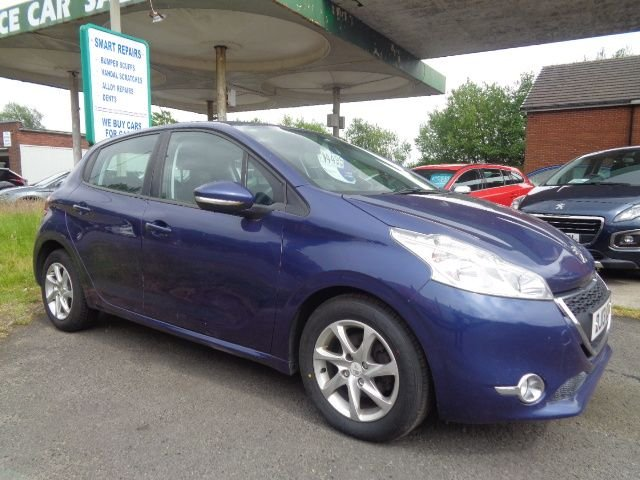 USED 2013 13 PEUGEOT 208 1.4 ACTIVE HDI 5d 68 BHP FREE ROAD TAX