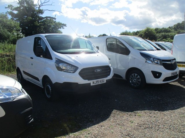 2019 19 FORD TRANSIT CUSTOM 2.0 300 BASE with air  L1 H1 5d 105 BHP