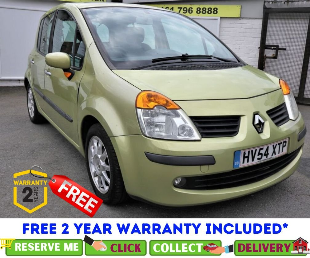 USED 2004 54 RENAULT MODUS 1.4 DYNAMIQUE 16V 5d 98 BHP *CLICK & COLLECT OR DELIVERY