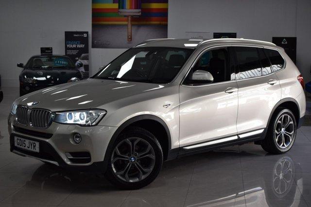 USED 2015 15 BMW X3 3.0L XDRIVE30D XLINE 5d AUTO 255 BHP STUNNING BMW X3 + 8 SERVICES! MUST BE SEEN!